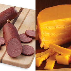Sausage  & Cheddar Cheese Bundle