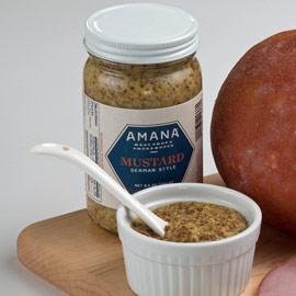 Amana German-Style Mustard 8.5 oz. (Ride-Along Special $3.69)