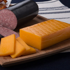 Smoked Cheddar Cheese <br>7 oz. (Ride-Along Price $5.75)