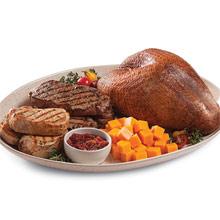 Turkey, Steak & Chop Supreme